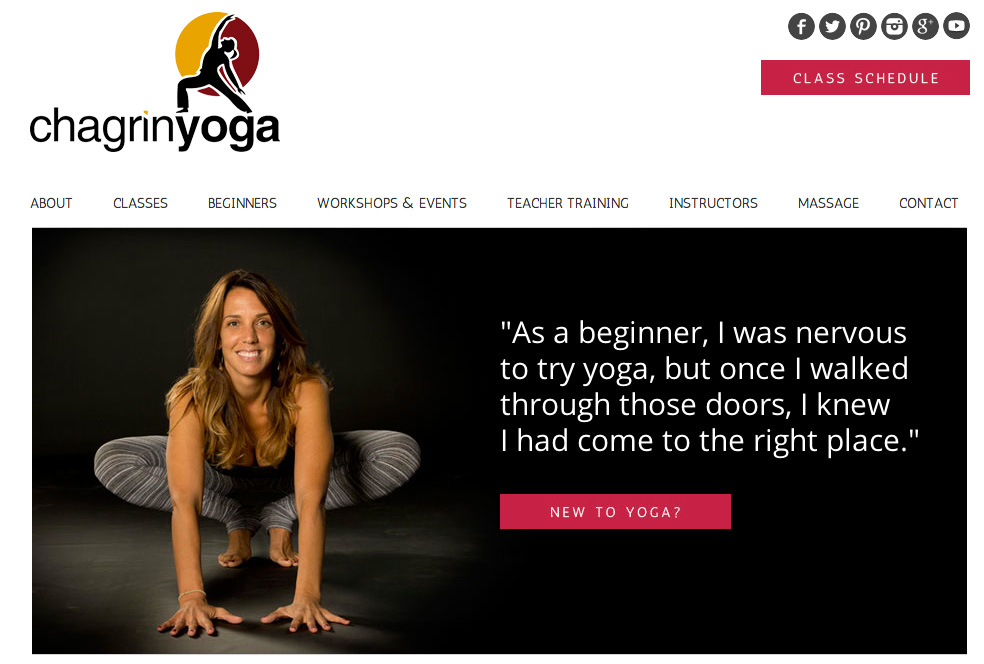 Just Launched: Chagrin Yoga