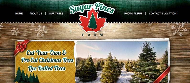 Just Launched: Sugar Pines Farm