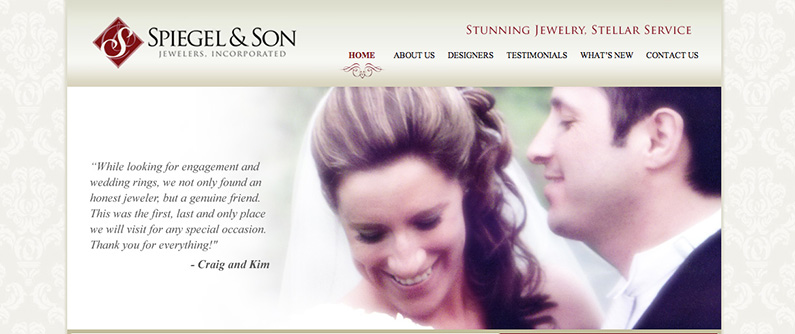 Just Launched: Spiegel & Son Jewelers