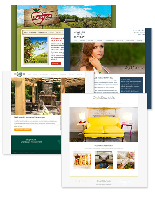 cleveland web design examples